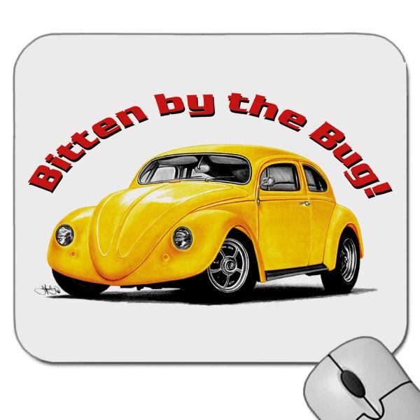 60's  VW  BEETLE  HOTROD  MOUSE PAD