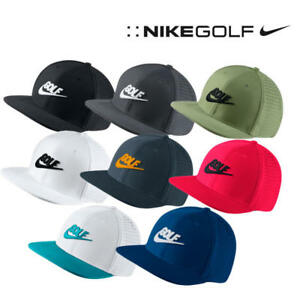 ccc951037dc nEW NIKE GOLF Pro   Legacy 91 Tech Dri-Fit Cap Hat Adjustable Back ...