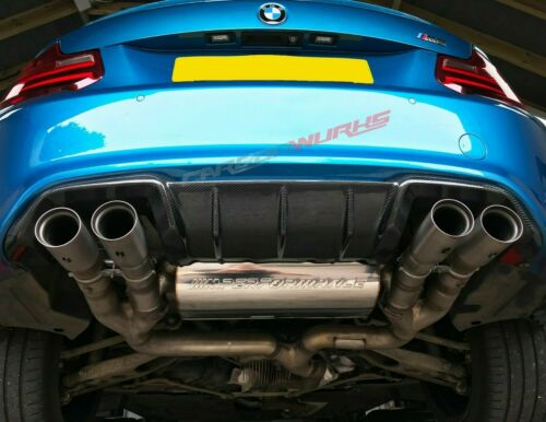 BMW M2 M Performance Carbon Fibre Rear Diffuser F87 UK Stock Perfect Fitment