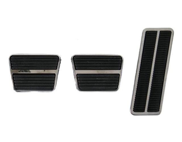 68 69 70 71 72 Corvette Pedal Pad & Trim Kit, Manual