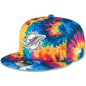 New-Miami-Dolphins-New-Era-Multi-Color-2020-Crucial-Catch-9FIFTY-Snapback-Hat