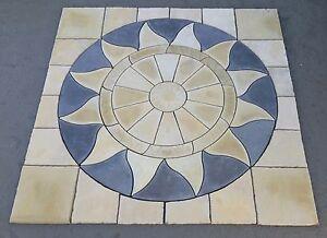 Stone-Concrete-Aztec-Circle-Patio-Paving-Set-3-0-sqm-Inc-Squaring-Off-Kit