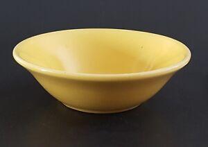 "Bauer USA La Linda Fruit Bowl Yellow Side Dish 6"""