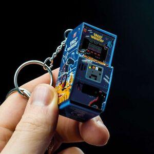 Porte-clés Space Invaders borne arcade