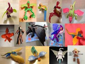 How To Train Your Dragon 2 Uk Various Mcdonalds Toy Figure Happy Meal Ebay