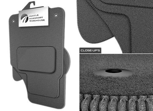 Volkswagen Sharan Tailored Fitted Grey Car Mats 1999-2010