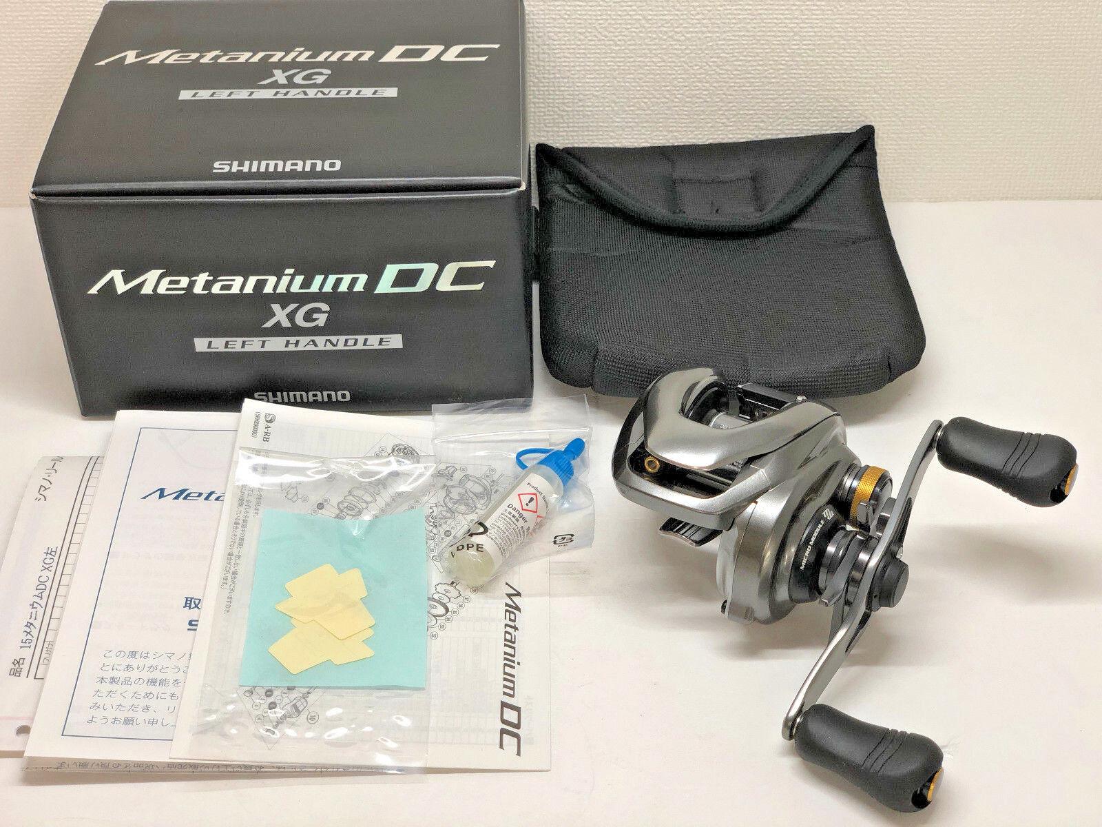 SHIMANO 15 METANIUM DC XG LEFT   - Free Shipping from Japan