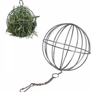 Pop Sphere Treat Guinea Pig Hamster Rat Rabbit Feed Dispenser Hanging Ball Toy .
