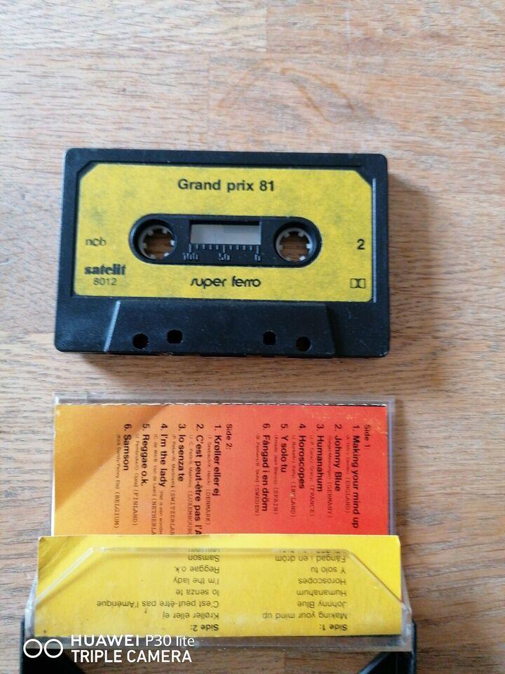Bånd, Melodi Grand Prix 1981, Grand Prix 81