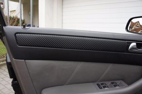 VW TOURAN GP2 ORIGINAL 3D CARBON ZIERLEISTEN FOLIEN SET