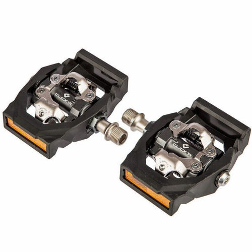 NEW 2018 Shimano Click/'r Easy Release MTB Dual Sided SPD Pedals PD-T700