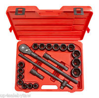 TEKTON Drive Impact Socket Set of 21 Tools and Accessories