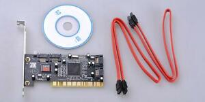 Hot-Sell-PCI-Interface-To-4-SATA-I-1-PCI-RAID-Controller-Card-Internal-Cable