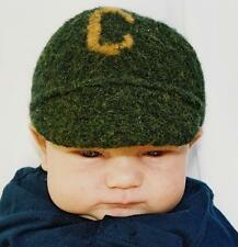 Pick Up Sticks Felted Ball Cap Knitting Pattern Easy Knit for Infants & Toddlers