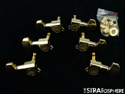 *NEW Wilkinson 3x3 TUNERS Tuning Pegs 15:1 Ratio Gold WJ01-GD *MODERN POST*
