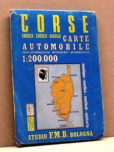 Corse [carte Automobile - Nautique, Studio F.m.b. Bologna] Pour Assurer Une Transmission En Douceur