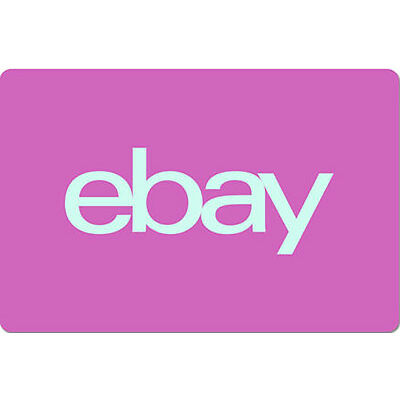 $100 eBay Gift Card - One card,  so many options.  Fast email delivery