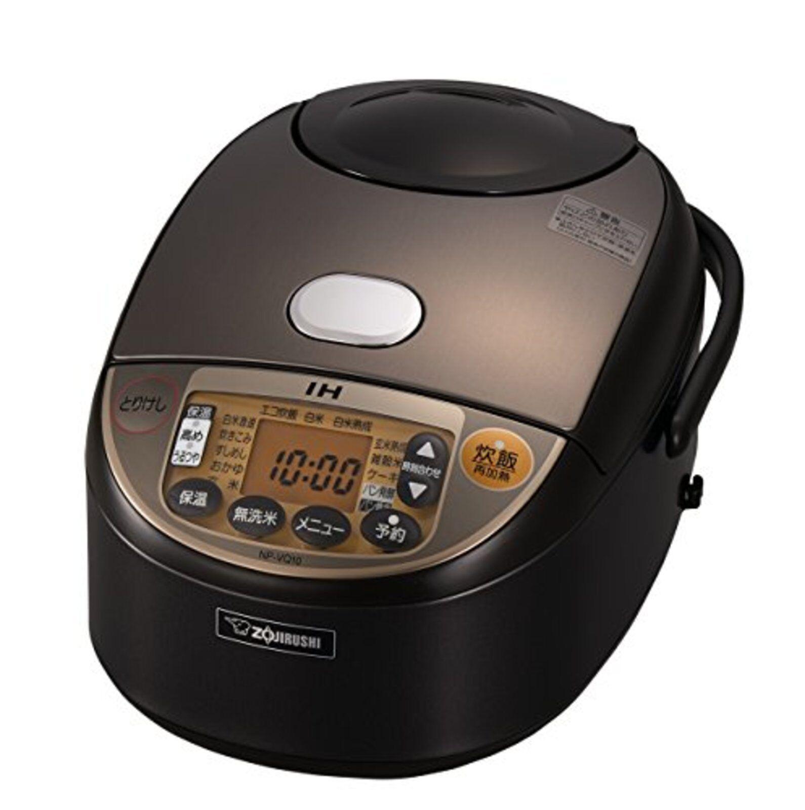 Zojirushi IH Cuiseur à riz 5.5 Go Cook marron Zojirushi extrêmement Cook NP-VQ10-TA