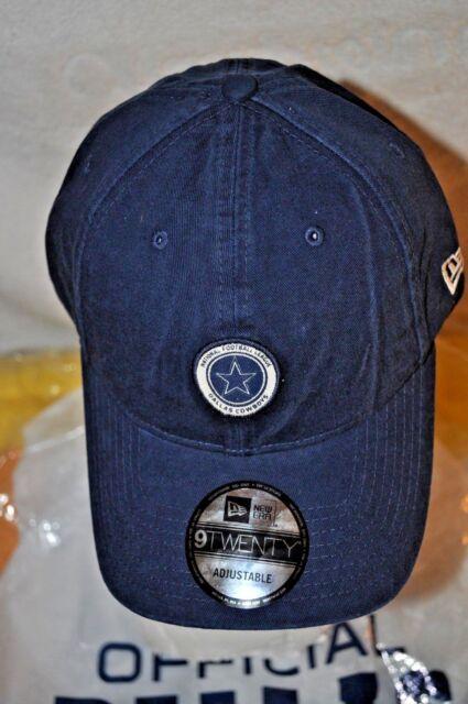 87fe414809c Dallas Cowboys Era 9twenty Navy Patch Logo Adj Strapback Baseball Hat Cap