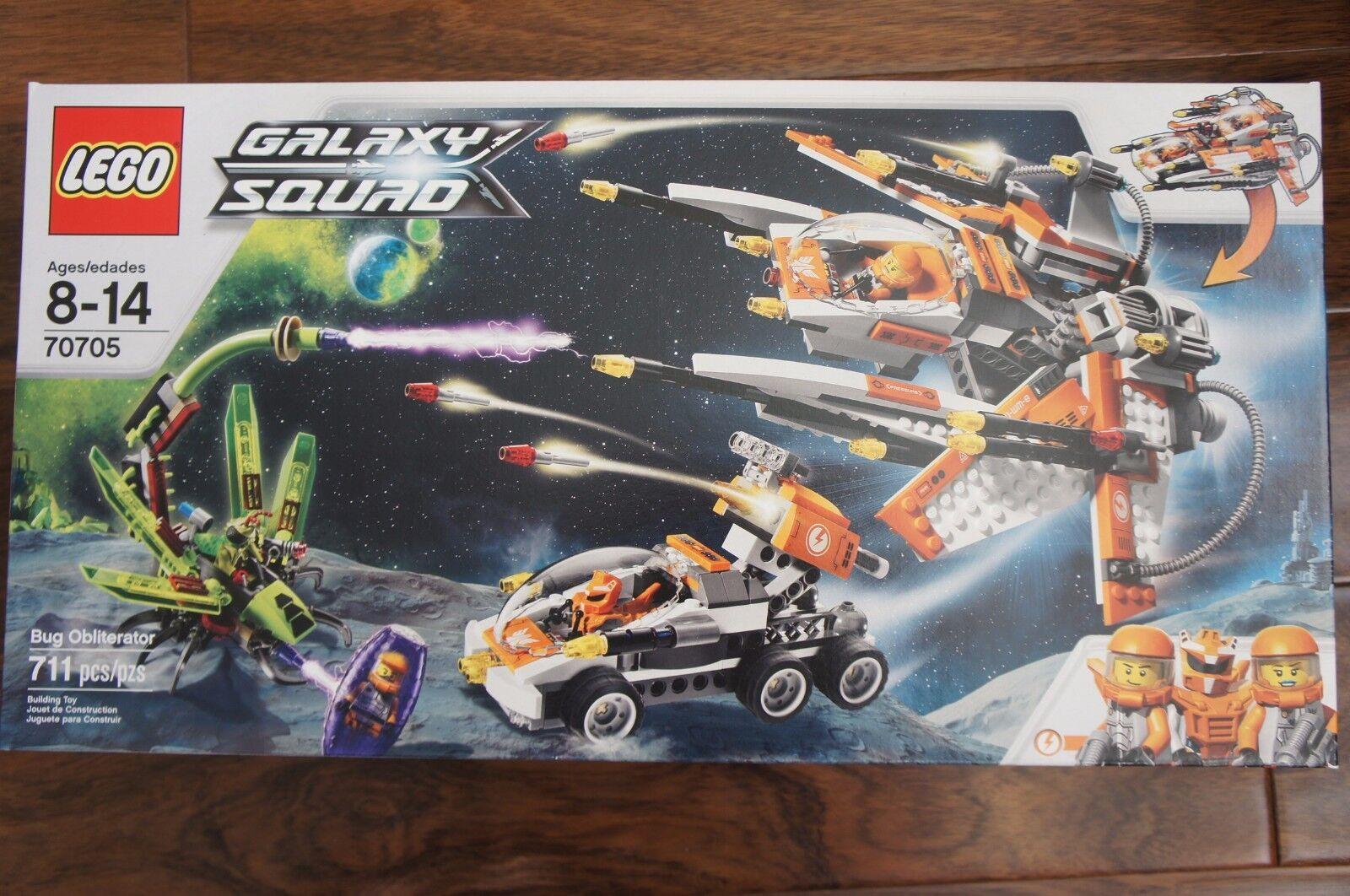 NEW LEGO Galaxy Squad Bug Obliterator  70705 711pcs RETIrosso