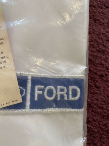 Ford Racing Vintage Anton Racing Apparel Jacket Wi