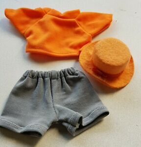 3-Piece-Oranges-Shirt-half-Pants-034-Felted-Hat-034-For-Approx-6-5-16-7