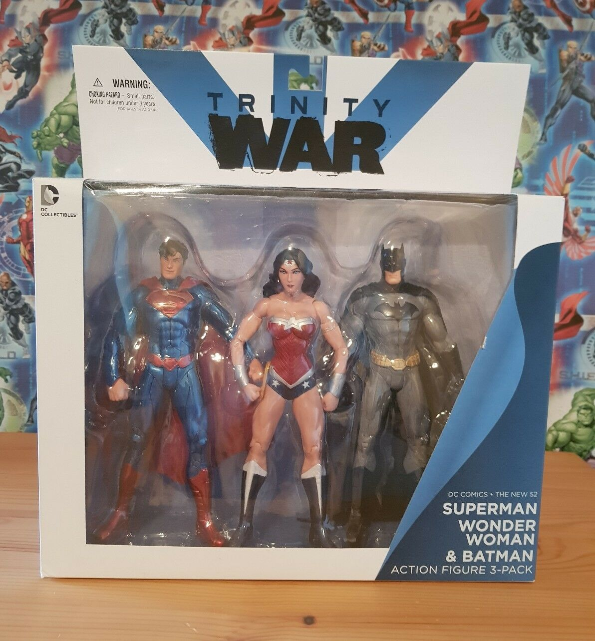 DC Collectables Trinity War 7  Figure Set RARE