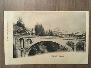 Tarjeta-Postal-Antigua-Flumet