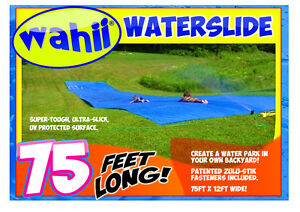 WAHII R WATER SLIDE 75ft 12 Free Birthday Party Invitations With