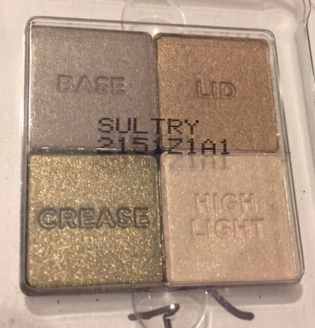 Victorias Secret Eyeshadow Sultry Quad Tester 21115934 Makeup For