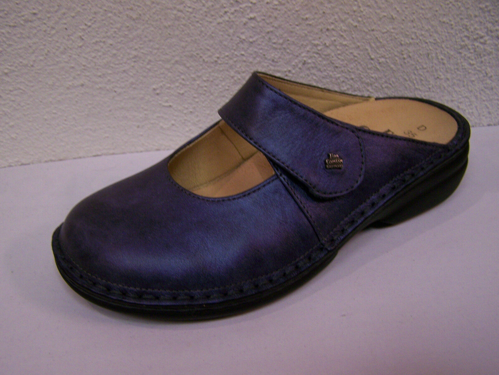 Finn Comfort Stanford bluee Metallic incl. Cotton shoes Bag Footbed