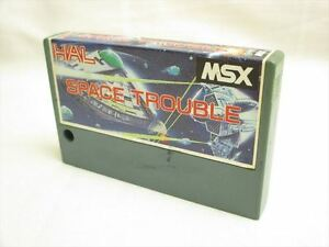 MSX-SPACE-TROUBLE-Cartridge-Import-Japan-Game-MSX-2507-cart