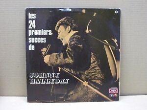 JOHNNY-HALLYDAY-LES-24-PREMIERS-SUCCES-DE-2-LP-33-GIRI-GATEFOLD-VG-VG
