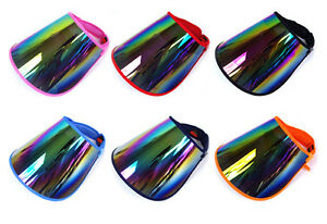 SUN VISOR HAT CAP UV PROTECTION HIKING GOLF TENNIS OUTDOOR UV BLOCK ... 9690cd3f754