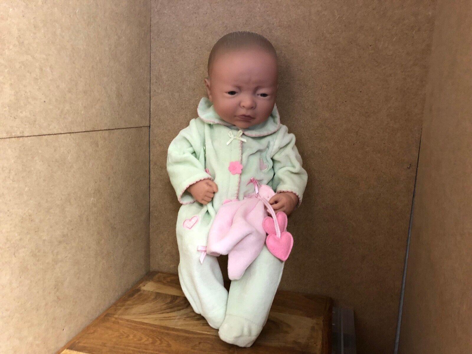 Artistas muñeca muñeca de vinilo 39 cm. top estado