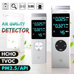 PM2-5-Detektor-HCHO-TVOC-AQI-Luft-Qualitaet-Messgeraet-Haus-Staub-Dust-Sensor