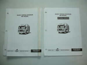 mack trucks mr chassis wiring diagram electrical schematic shop service manual ebay