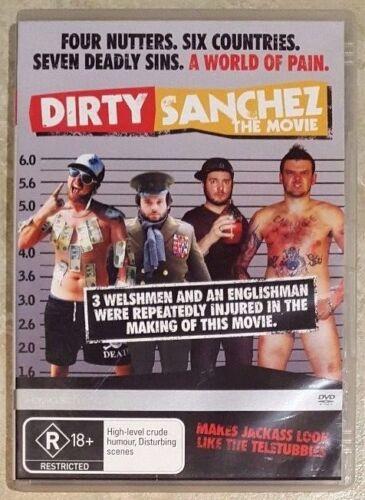 1 of 1 - Dirty Sanchez The Movie (Lee Dainton & Dan Joyce) DVD (Region 4)