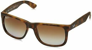 200ca707eeb Ray-Ban Justin Rb4165 865 t5 54 Tortoise Frame With Brown Polarized  Sunglasses