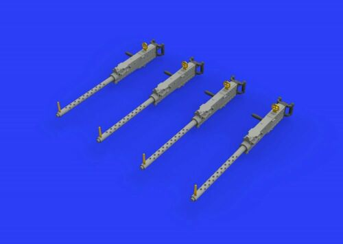 Eduard Accessories 648458-1:48 M2 Brownings w//handles for aircraft Neu