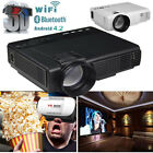 3500LM HD LED Projector Reality 3D LCD Smart Home Theater TV HDMI 1080P LOT USA