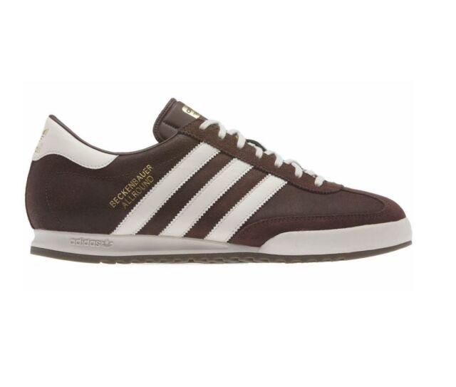 ceja Llamarada Diez años  New Men's Adidas Beckenbauer All Round Trainer Shoes Brown Size 7 - 12 for  sale online
