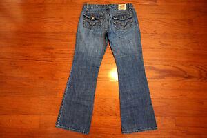 Chip-Pepper-LA-JOLLA-FLARE-Leg-SEXY-FIT-Blue-Jeans-Junior-Size-5-AMAZING