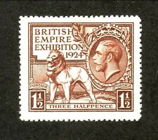 Great Britain--#186 MNH--British Empire Exhibition--1924