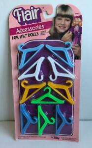 1983-Barbie-Size-Doll-Clothes-Hangers-Vintage-50pc-Pack-Flair-Accessories-Totsy