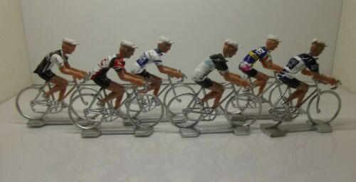 Fabian Cancellara cycling figurines set miniature Trek Madone Saxo