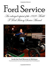 Model T Ford Factory Service Manual Reprint ~Large Print~BRAND NEW!