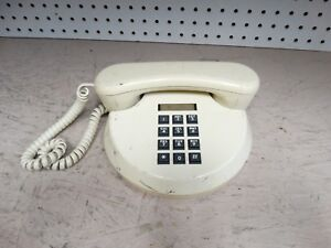 1982-White-Northern-Telecom-Rendezvous-2020-Round-Push-Button-Telephone