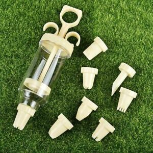 Pastry Syringe Confectionery Nozzles Tools Tips Cream Extruder Kitchen Cookie