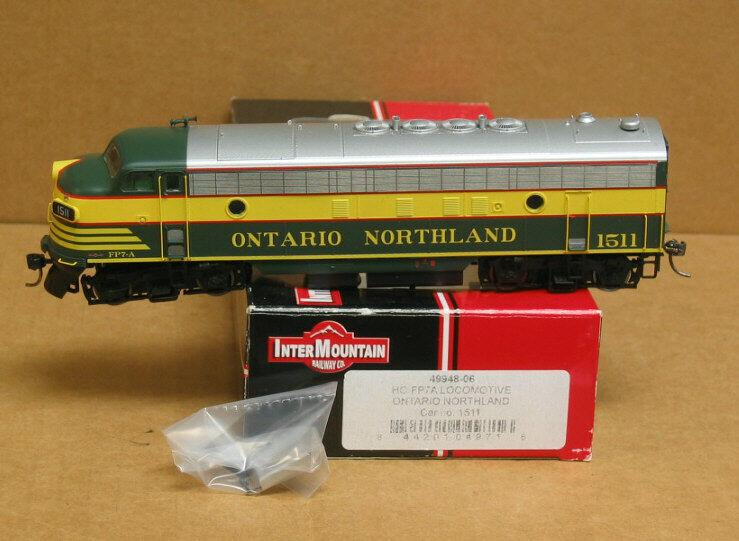 Intermountain 49948-05 Ho Ontario Northland FP7A DC DCC Decodificador de modo dual